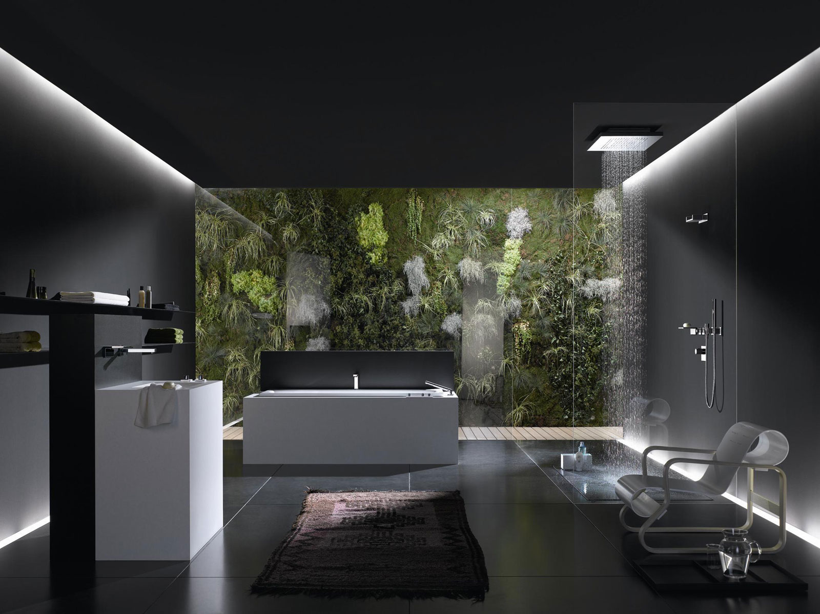 Dornbracht hyde park bathrooms and kitchens - Banos de lujo modernos ...