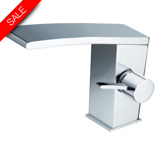 Just Taps - Wings Single Lever Basin Mixer With Pop Up Waste