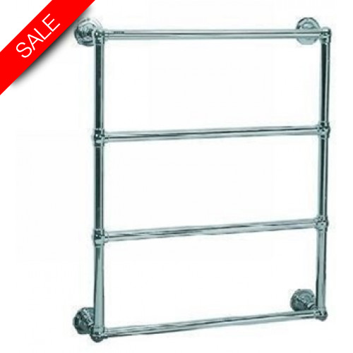 Lefroy Brooks - Classic Wall Mounted Towel Rail (838H x 686W) Hyronic