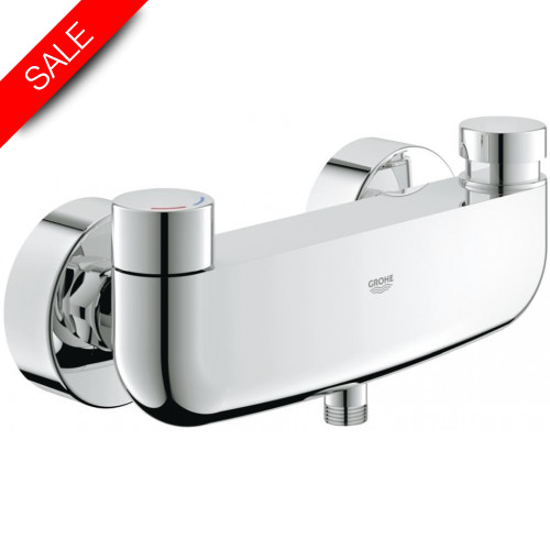 Grohe - Bathrooms - Eurosmart Cosmopolitan T Self-Closing Shower Mixer 1/2''