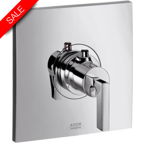 Hansgrohe - Bathrooms - Citterio Highflow Thermostatic Mixer With Lever Handle