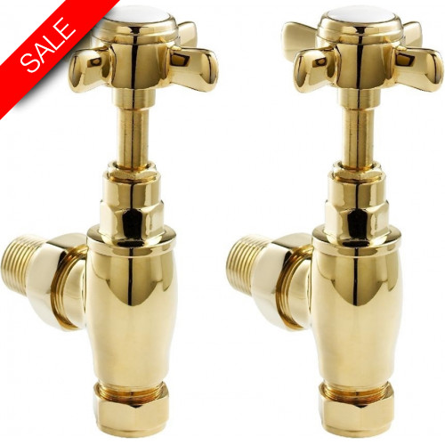 Zehnder - Traditional Valve Set - Chrome