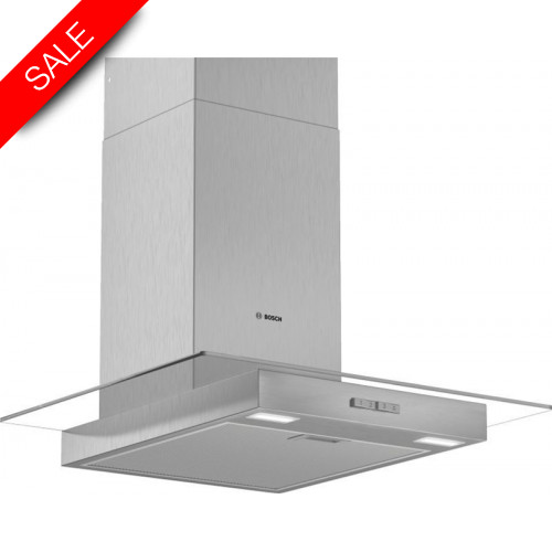 Boschs - Serie 2 60cm Wide Straight Canopy Cooker Hood