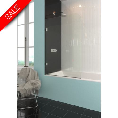 ShowerLab - Scandium 15 Bespoke Curved Fixed Bath Screen Up To 800mm