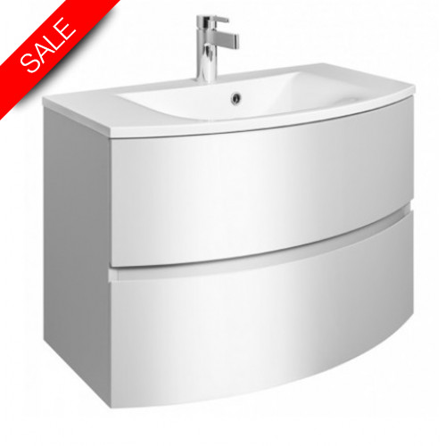 Bauhaus - Svelte Basin 800mm With Oveflow 0TH