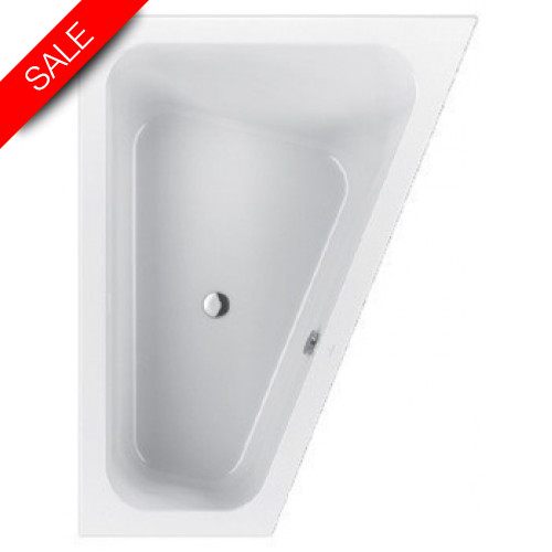 Villeroy & Boch - Loop & Friends Special Shape Corner Bath 1750 x 1350mm RH