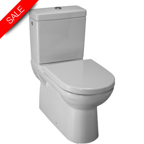 Laufen - Pro Floorstanding Back To Wall WC - Lateral Hole