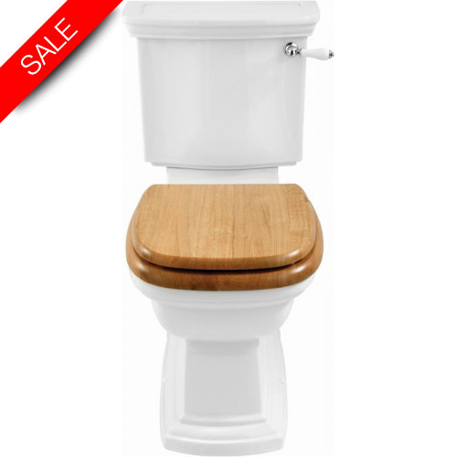 Imperial Bathroom Co - Radcliffe Close Coupled Cistern & Fittings & Push Button