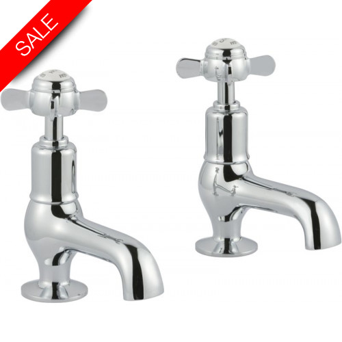 Just Taps - Grosvenor Pinch Cloakroom Basin Taps