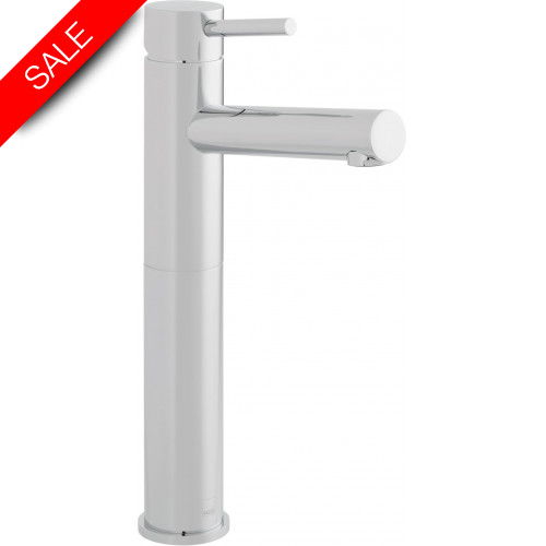 Vado - Zoo Extended Mono Basin Mixer Single Lever Smooth Bodied
