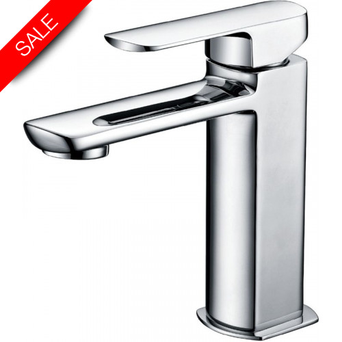 Just Taps - Mis Single Lever Basin Mixer Without Pop Up Waste