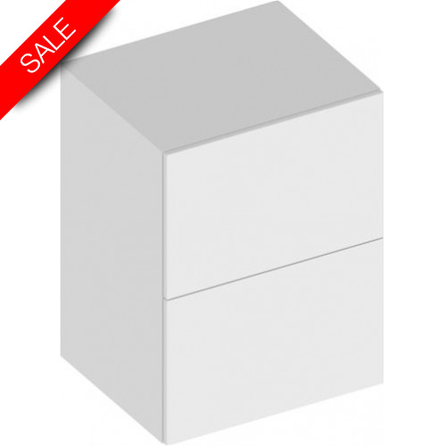 Keuco - Edition 90 Side Unit With 2 Front Drawers 600 x 800 x 485mm