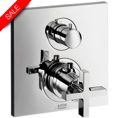 Hansgrohe - Bathrooms - Citterio Thermostatic Mixer With Shut Off Valve