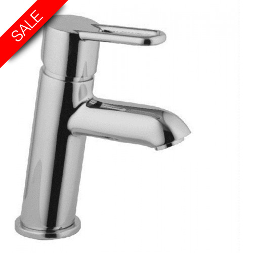 Just Taps - Nuvola Single Lever Basin Mixer Without Pop Up Waste