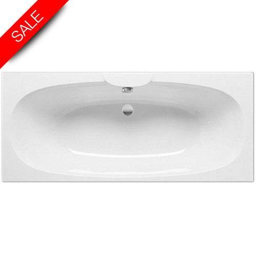 Roca - Sitges Double-Ended Bath 1700 x 750mm - 0TH
