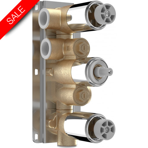 Saneux - Tooga/Cos/Nicholson Thermo Valve Body Of 3 Hole/3 Outlets