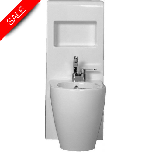 Flaminia - Link Back To Wall Bidet