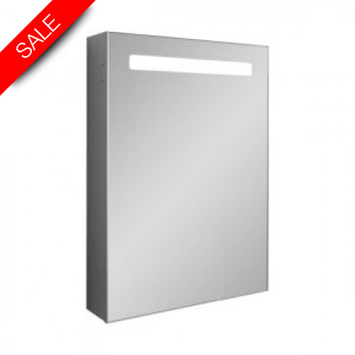 Bauhaus - Allure 500mm Mirrored Cabinet LED