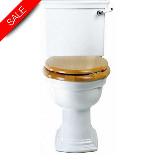 Imperial Bathroom Co - Westminster Close Coupled Cistern & Fittings & Push Button