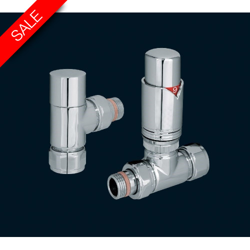 Bisque - Valve Set T (Mixed Thermostatic) - Chrome