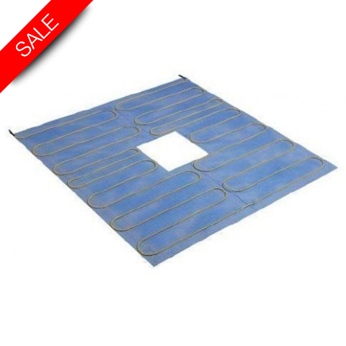 Thermonet - Shower Tray Heatmat 1.5m x 0.8m Central Drain