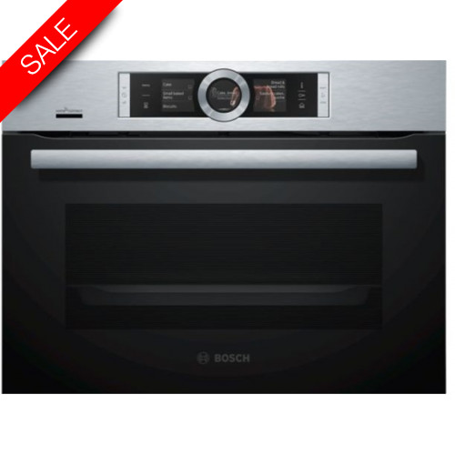 Boschs - Serie 8 Compact 45cm Steam Ovens