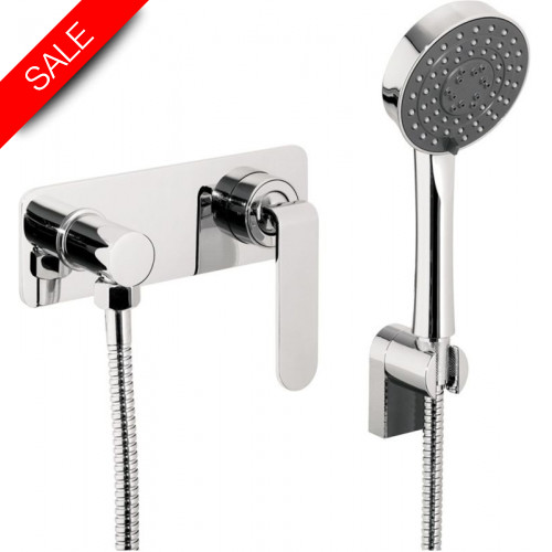Just Taps - Vue Concealed Manual Valve With Shower Attachment