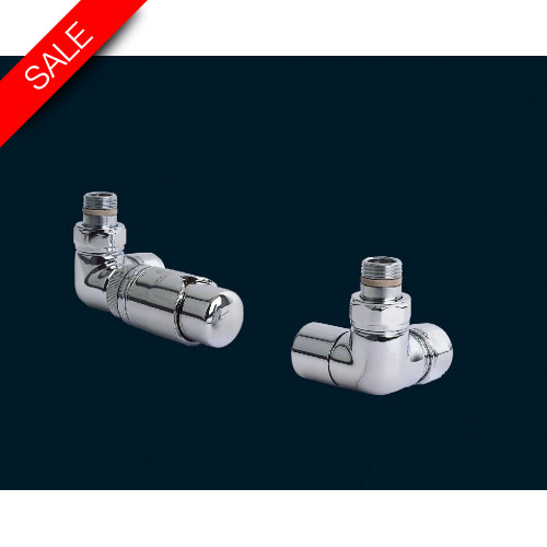 Bisque - Valve Set L (Double Angled Thermostatic)