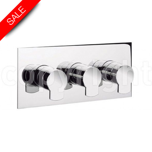 Crosswater - Wisp 2001 Thermostatic Shower Valve 3 Control