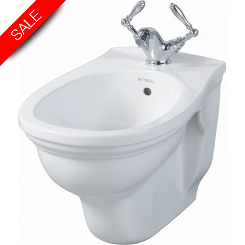 Imperial Bathroom Co - Astoria Deco Wall Hung Bidet