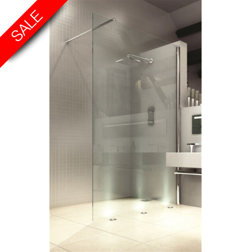 Merlyn - 8 Series Showerwall 800mm Incl MStone Tray