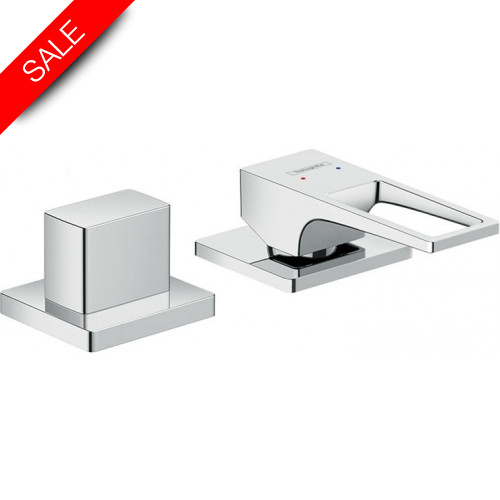 Hansgrohe - Bathrooms - Metropol 2-Hole Rim-Mounted Single Lever Bath Mixer