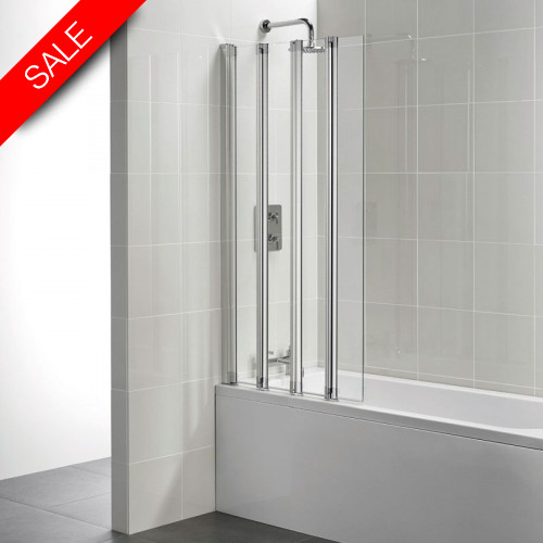 Ideal Standard - New Connect 5 Panel Folding Bath Screen