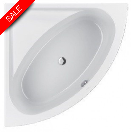 Villeroy & Boch - Loop & Friends Acrylic Duo Corner Bath 1400 x 1400mm