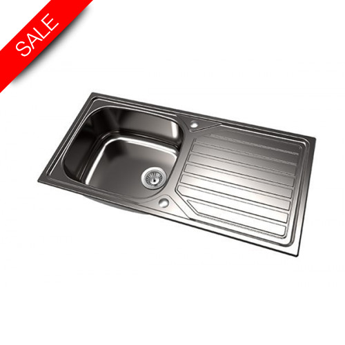 1810 Company - Veloreuno Single Bowl Sink 100I Large
