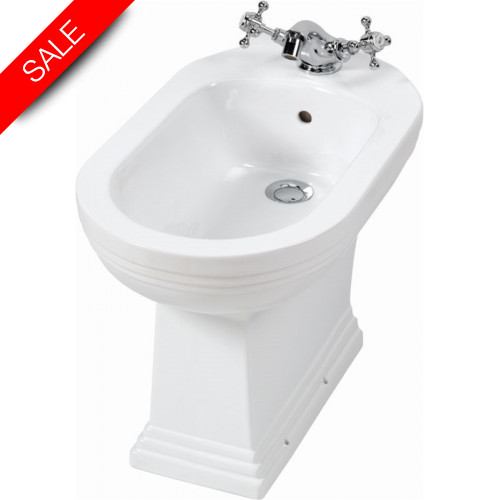 Imperial Bathroom Co - Astoria Deco Bidet 1TH