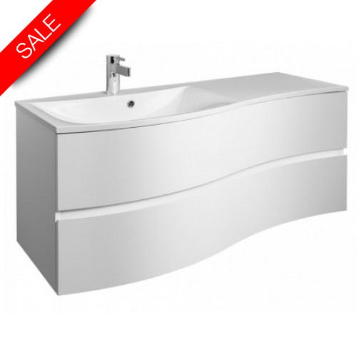 Bauhaus - Svelte Basin 1200mm With Oveflow 0TH