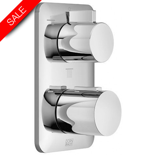 Dornbracht - Bathrooms - Lissé Concealed Thermostat With Three Function Volume Ctr