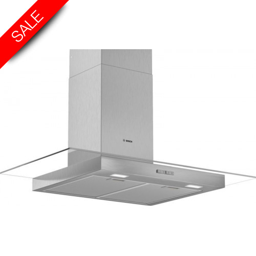 Boschs - Serie 2 90cm Wide Straight Canopy Cooker Hood