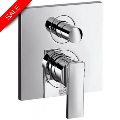 Hansgrohe - Bathrooms - Citterio Finish Set With Integrated Safety Combination