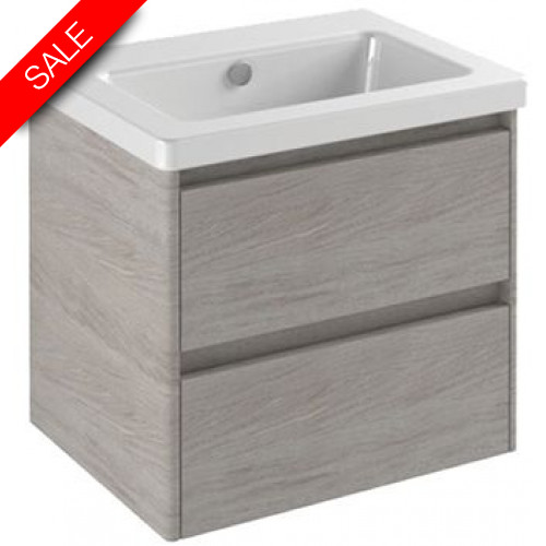 Catalano - New Light 62 2 Drawer Unit 58x47x52cm