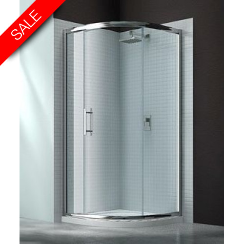 Merlyn - 6 Series 1 Door Quad 900mm Incl MStone Tray