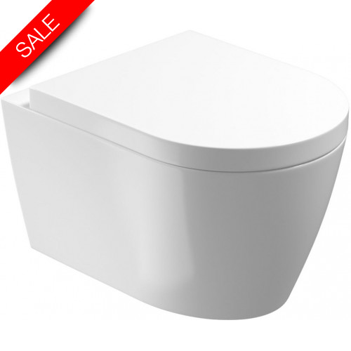 Saneux - Uni Wall Hung Pan - Rimless