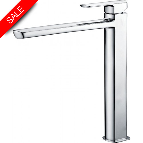 Just Taps - Mis Tall Basin Mixer With Pop Up Waste