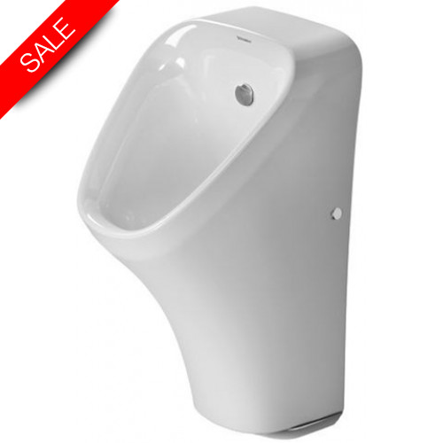 Duravit - Bathrooms - DuraStyle Urinal With Nozzle Concealed Inlet Fly