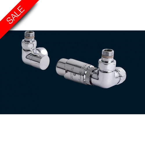 Bisque - Valve Set M (Double Angled Thermostatic)