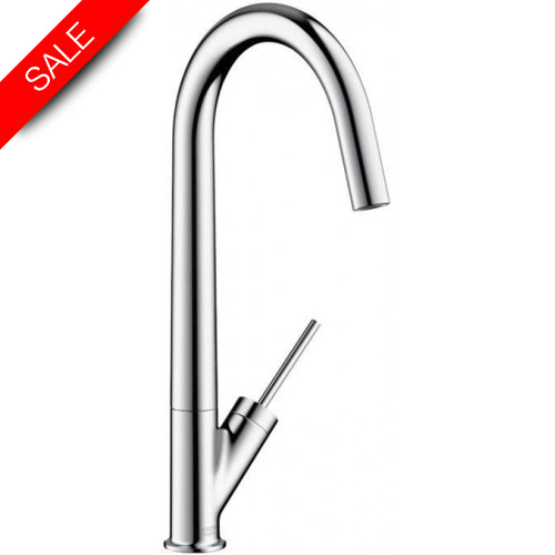 Hansgrohe - Kitchens - Starck Kitchen Mixer With Swivel Spout