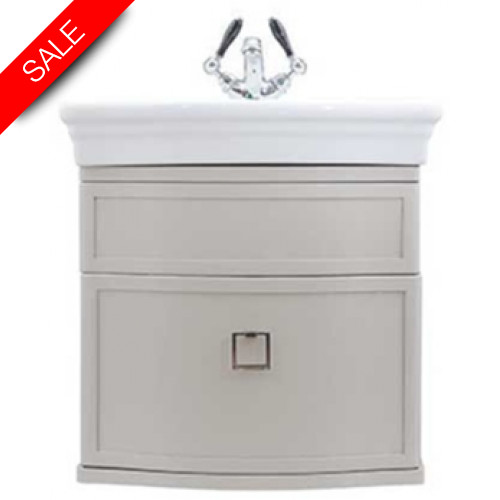 Imperial Bathroom Co - Verona Small Basin Wall Hung Vanity Unit