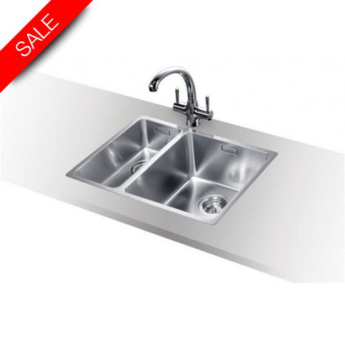 Blanco - Andano 340/180-IF Inset Sink & Tap Pack RH Bowl