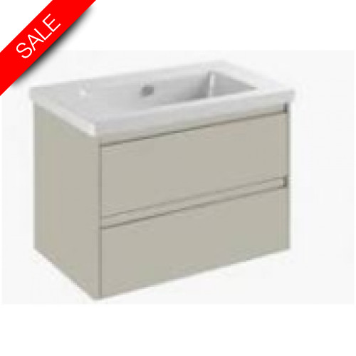Catalano - New Light 80 2 Drawer Unit 76x47x52cm